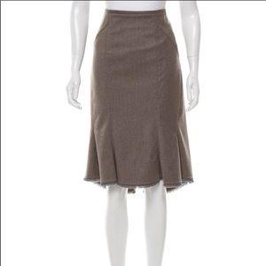 Zac Posen back detail skirt